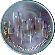 Washington Irving - Cara Y Cruz de Nuestra Historia 1994 – reverse