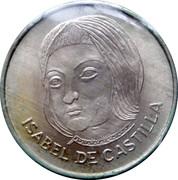 Isabel de Castilla - Cara Y Cruz de Nuestra Historia 1994 – obverse