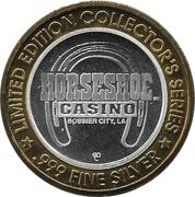 Gaming Token - Horseshoe Casino (Bossier City, LA) – obverse