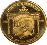 Token - John F. Kennedy – obverse