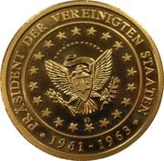 Token - John F. Kennedy – reverse