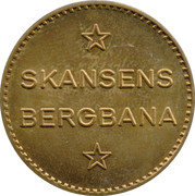 Funicular Token - Skansens Bergbana – obverse