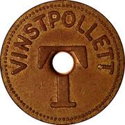 Token - 25 Vinstpollett Tivoli – reverse
