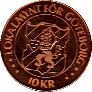 10 Kronor - Gothenburg (Kronhuset) – obverse