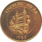 15 Kronor - Gothenburg (Liseberg 60 years) – reverse