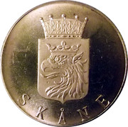 Token - Savings Bank (Skåne) – obverse