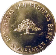 Token - Savings Bank (Skåne) – reverse