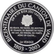 1 Gilles - Canton de Vaud – obverse