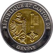 1 Sablier - Republic and Canton of Geneva – obverse