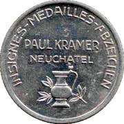 Token -  Paul Kramer (Schweiz Landesausstellung) – reverse