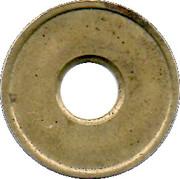 Car Wash Token - Ferrum R. Theiler SA – reverse