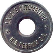 Car Wash Token - N.S. Ferrum S.A. (Copper-nickel) – obverse