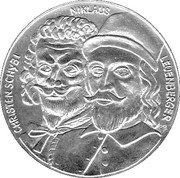 Medallion - Swiss peasant war 300 years – obverse