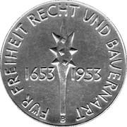 Medallion - Swiss peasant war 300 years – reverse