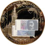 comémoration des billets de banque nationale Suisse – obverse