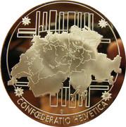 comémoration des billets de banque nationale Suisse – reverse