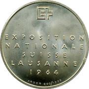 Medallion - Exposition Suisse (Lausanne 1964) – obverse