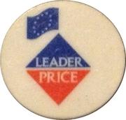 Shopping Cart Token - Leader Price – obverse