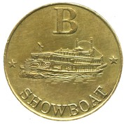 Token - Harry Levy Showboat (B) – reverse