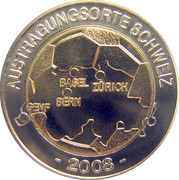 Token - UEFA Euro 2008 (Switzerland) – obverse