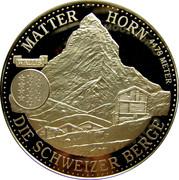 Token - Schweizer Berge – obverse