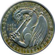 Medallion - Fünfhundertjahrfeier der Universität Basel – obverse