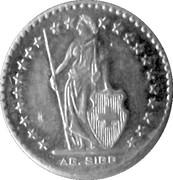 2 Francs (AG Sigg) – obverse