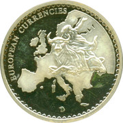 Token - European Currency (Switzerland) – reverse
