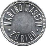 1 Franc - Marino Masetti (Zürich) – obverse