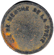 1 Franc (French Syria) – obverse