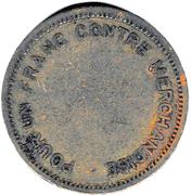 1 Franc (French Syria) – reverse
