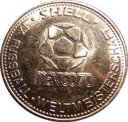 Shell Token - Fußball-WM 1970 Mexico (Bernd Patzke) – reverse