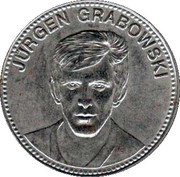 Shell Token - Fußball-WM 1970 Mexico (Jürgen Grabowski) – obverse