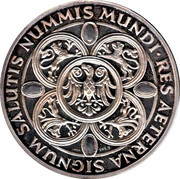 Token - Nummis Mundi (Maria Theresia) – reverse