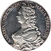 Token - Nummis Mundi (Maria Theresia) – obverse