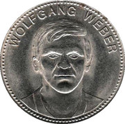 Shell Token - Fußball-WM 1970 Mexico (Wolfgang Weber) – obverse