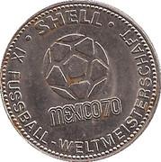 Shell Token - Fußball-WM 1970 Mexico (Sepp Maier) – reverse