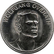 Shell Token - Fußball-WM 1970 Mexico (Wolfgang Overath) – obverse