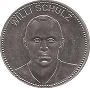 Shell Token - Fußball-WM 1970 Mexico (Willi Schulz) – obverse
