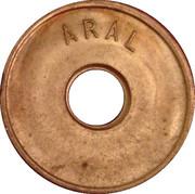Token - Aral – reverse