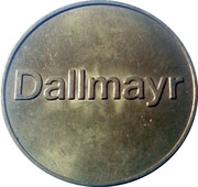 Dallmayr Token – obverse