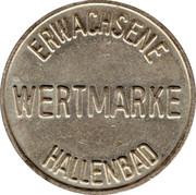 Public Swimming Pool Token - Frankenthal (adult) – reverse