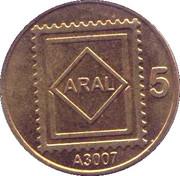 Token - Aral 5 – obverse