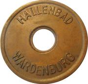 Public Swimming Pool Token - Wardenburg (youth) – obverse