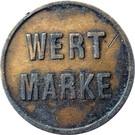 Token - Wert Marke – obverse