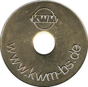 Car Wash Token - Karl W. Müller – reverse