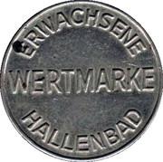 Public Swimming Pool Token - Hallenbad (adult; type 1) – obverse