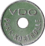 Parking Token - VDO Park-Kontrolle – obverse