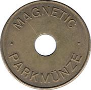 Parking Token - Magnetic Parkmünze – obverse