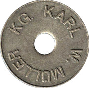 Token - KWM Münzprüfer (Karl W. Müller KG; without circle on obverse) – obverse